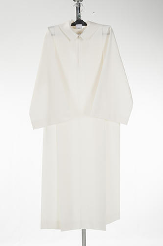 Altar server alb in polyester and wool 1