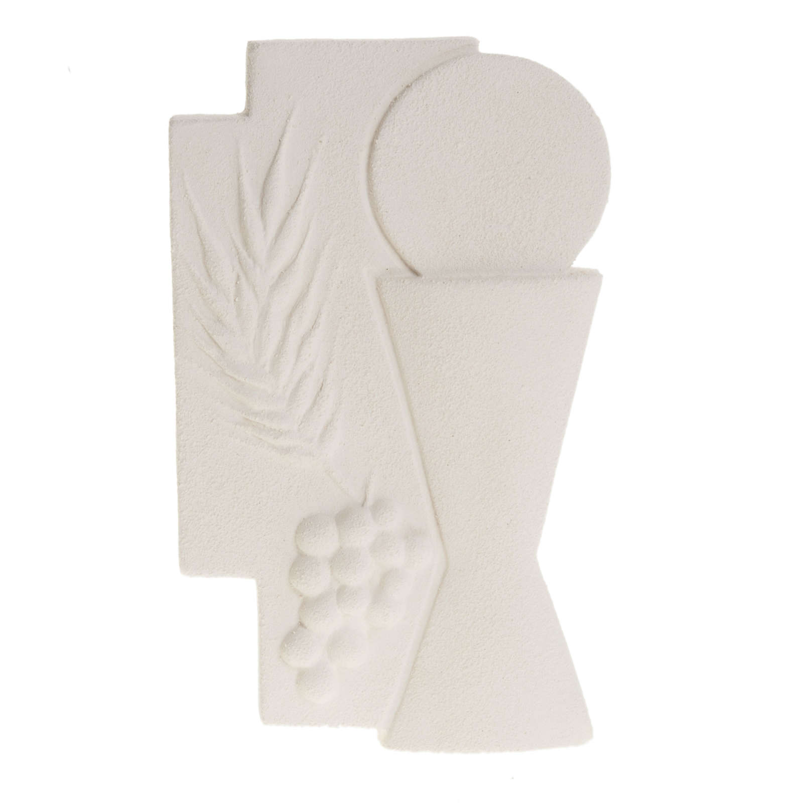 Bas-relief First Communion crucifix, 15 cm 3