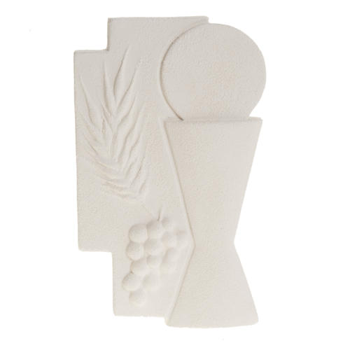 Bas-relief First Communion crucifix, 15 cm 1