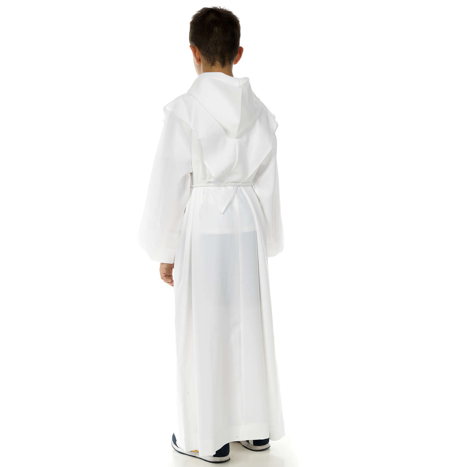 First Communion alb with Tau and Cross 4