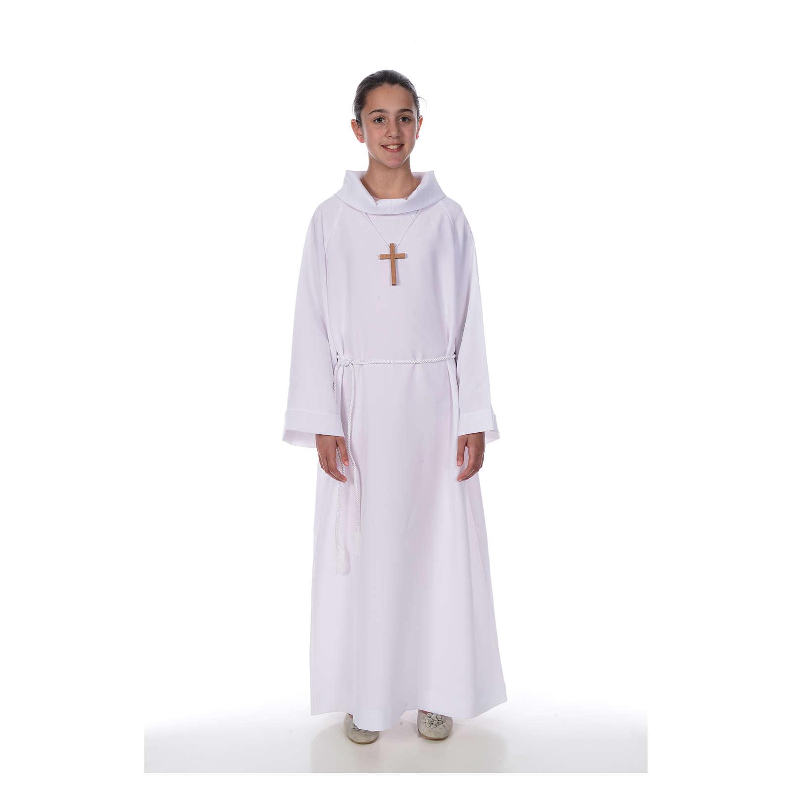 First Communion alb, Economy model 4