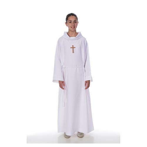 First Communion alb, Economy model 1