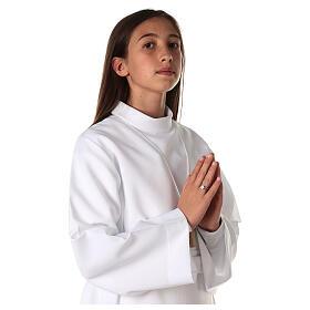 Aube communion fille avec noeud s2
