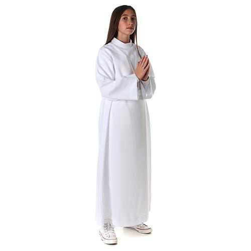 Aube communion fille avec noeud 5