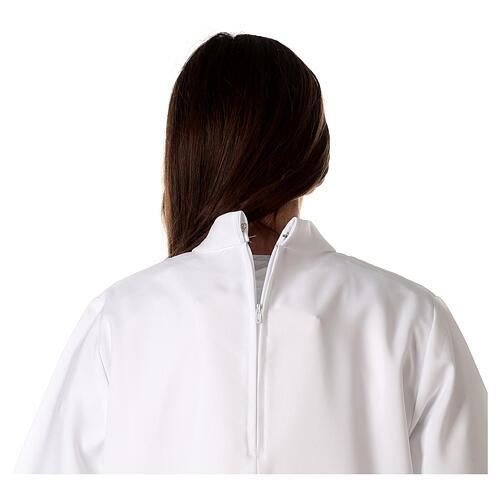 Aube communion fille avec noeud 8