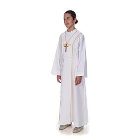 Aube communion scapulaire brodé s2