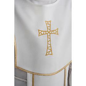 Aube communion garçon avec croix s5