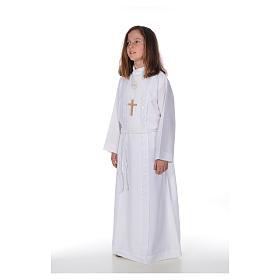 Aube communion fille Macramé s2