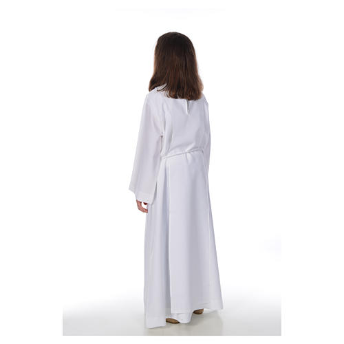 Aube communion fille Macramé 3
