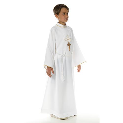 Abito prima comunione per bambino croce 4
