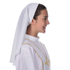 Communion veil with lace for alb s1