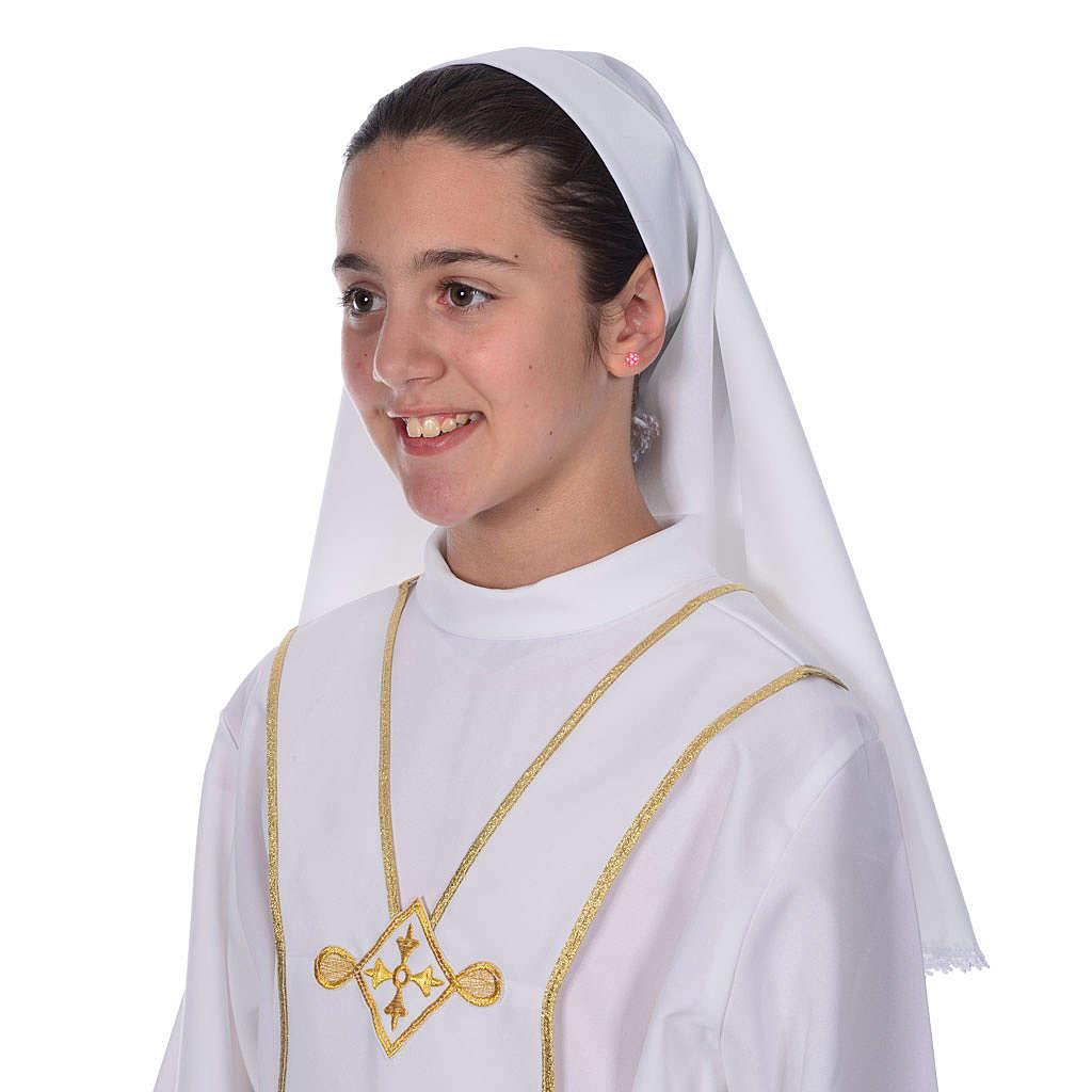 Voile d'aube première communion 4