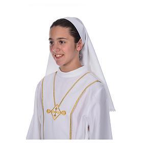 Voile d'aube première communion s4