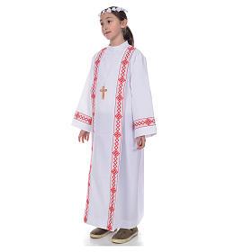 First Communion alb, 2 hems s2