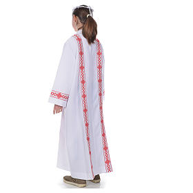 First Communion alb, 2 hems s3