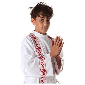 Tunique première communion deux bords s2