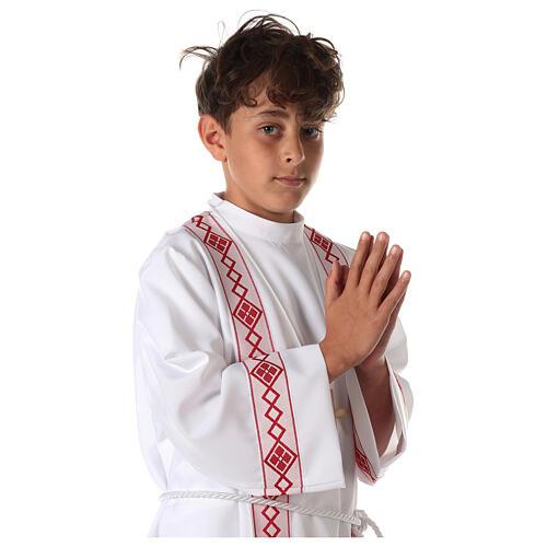 Tunique première communion deux bords 2