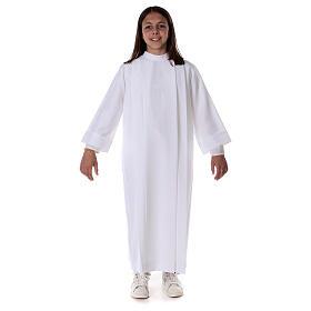 Vestido con pliegues, Primera Comunión