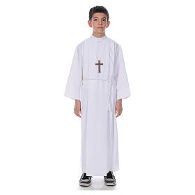 Holy Communion Alb with 4 pleats s1