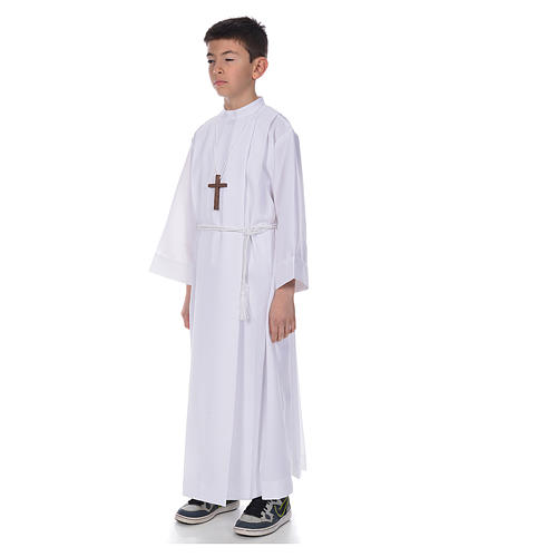 Holy Communion Alb with 4 pleats 2