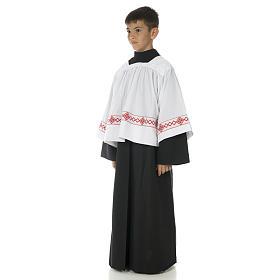 Soutanelle servant d'autel noire s2