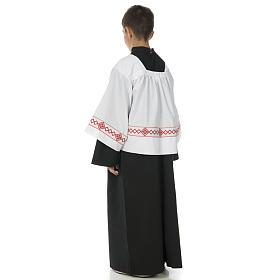 Soutanelle servant d'autel noire s4