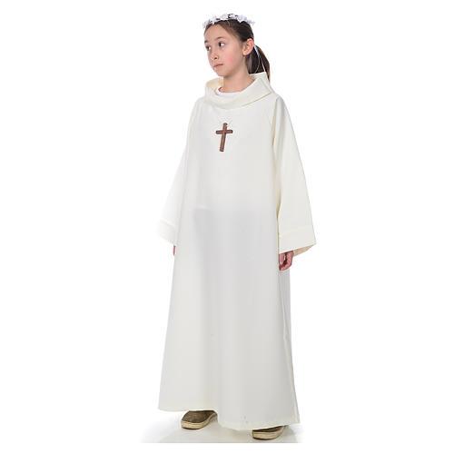 Aube première communion ivoire 2