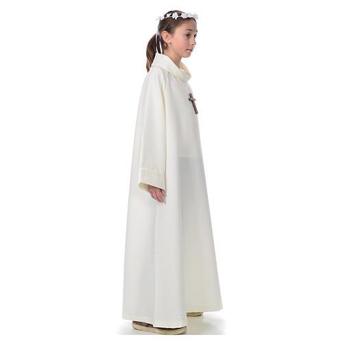 Aube première communion ivoire 4