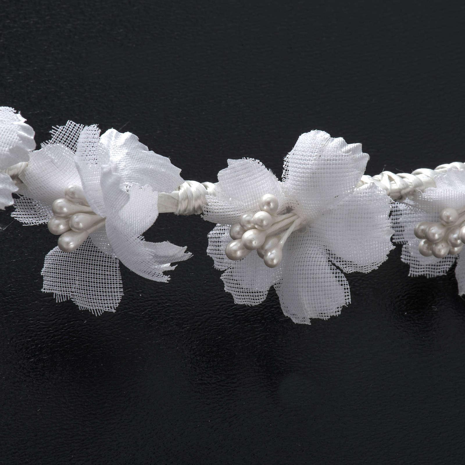 Coroncina floreale per Abito della Prima Comunione 4