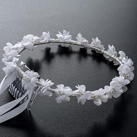 Coroncina floreale per Abito della Prima Comunione s2