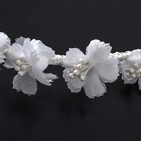 Coroncina floreale per Abito della Prima Comunione s4