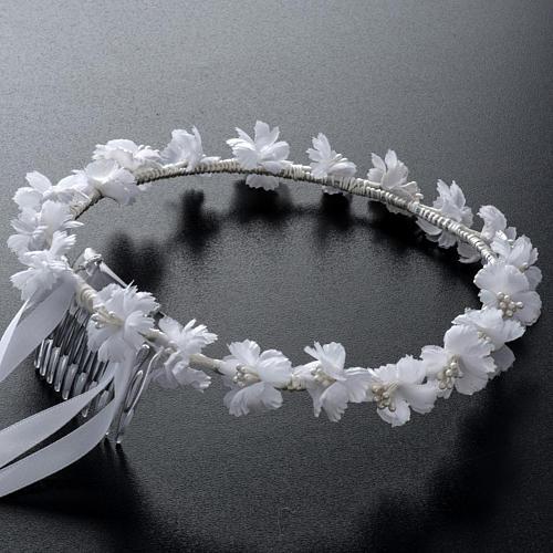 Coroncina floreale per Abito della Prima Comunione 2