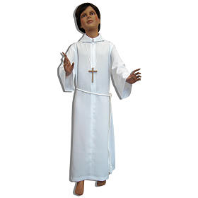 White alb for the holy first communion s1