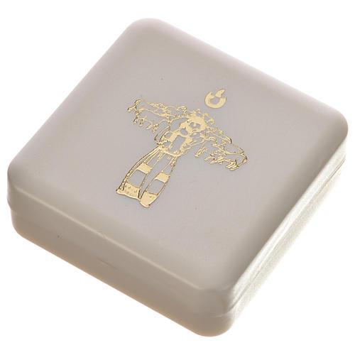 Rosenkranz und Schlüßelanhänger Papst Franziskus 6