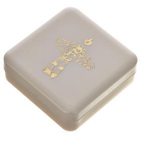 Terço preto e cruz Papa Francisco s6