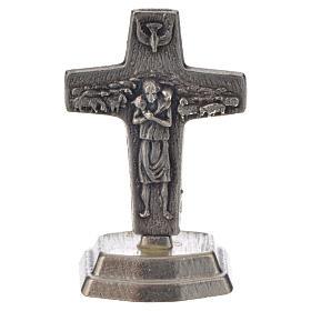 Różaniec mahoniowy i krzyż Papieża Franciszka s5