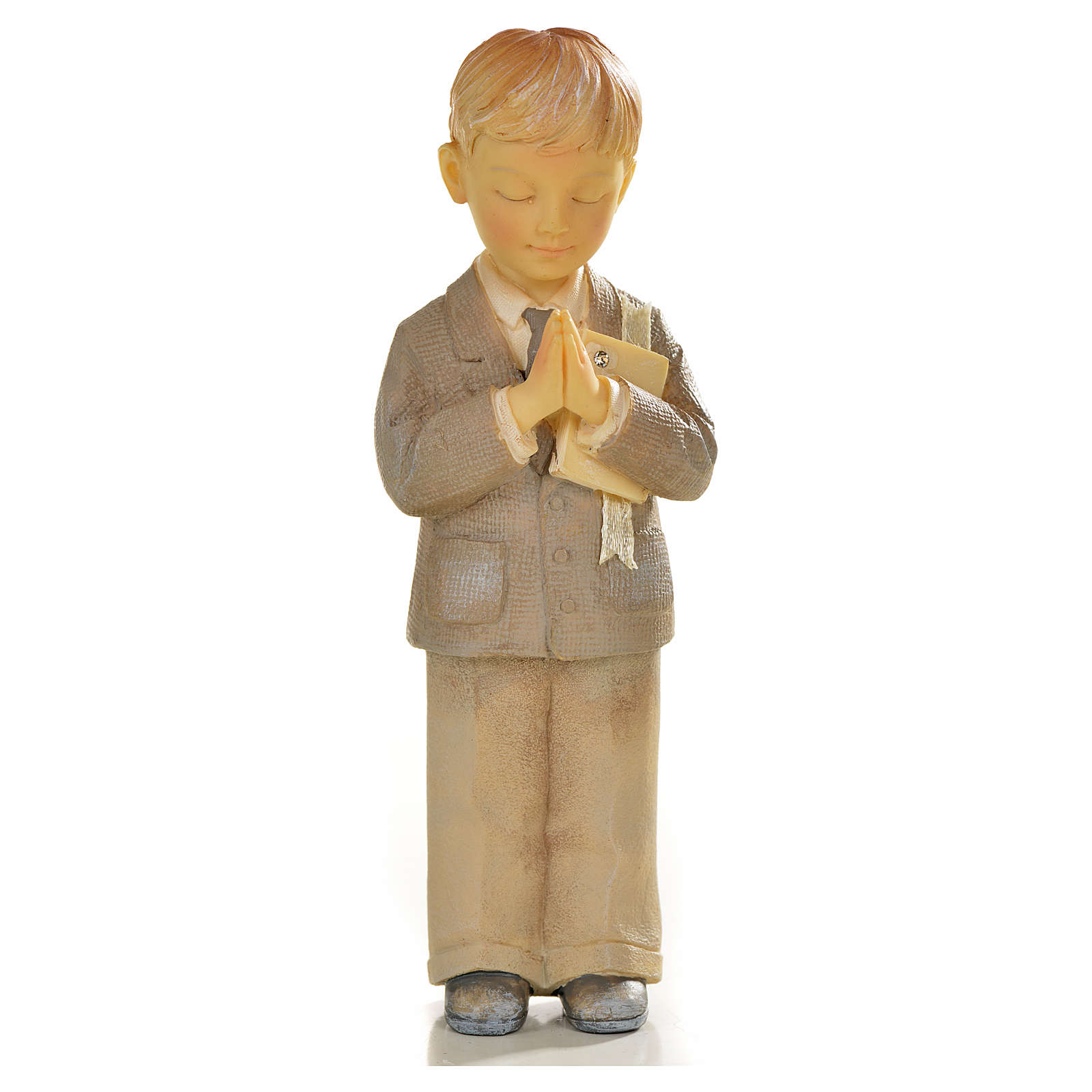 Praying child in resin 3