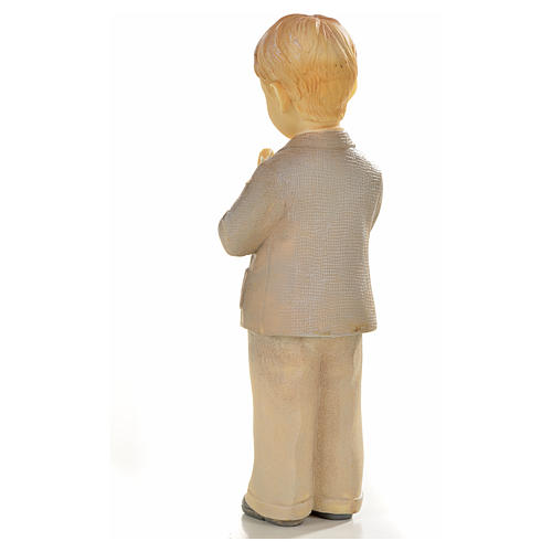 Praying child in resin 6