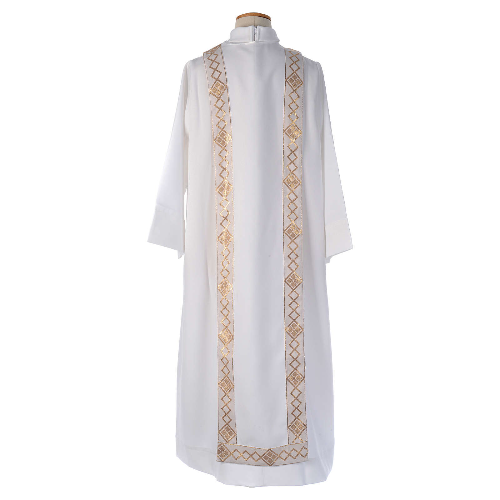Embroidered Cross Holy Communion Alb 4