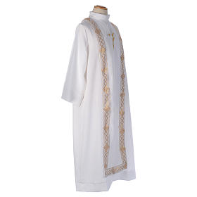 Embroidered Cross Holy Communion Alb s5