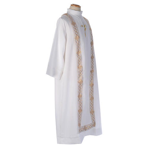 Embroidered Cross Holy Communion Alb 5