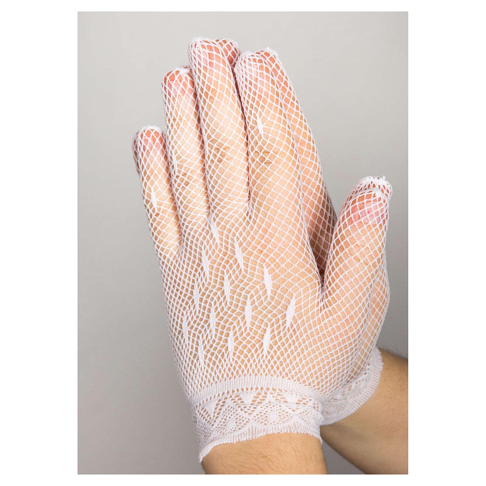 First Communion gloves 4