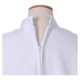 Vestido Primera Comunión poliéster abocinado cuello alto s3