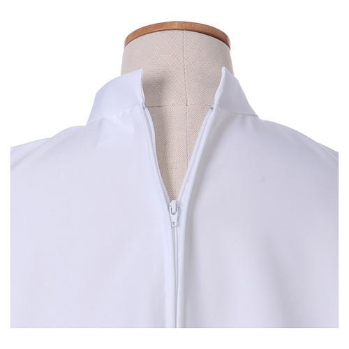 Vestido Primera Comunión poliéster abocinado cuello alto 3