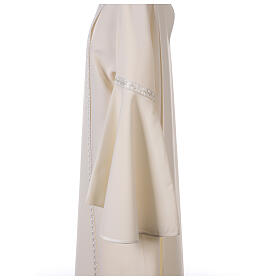 First Communion alb ivory with white embroidery girl s9