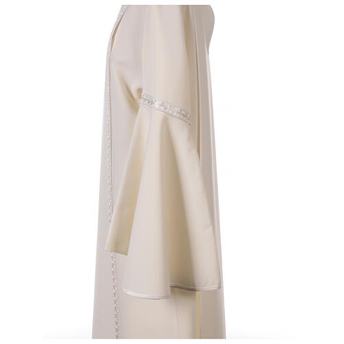 First Communion alb ivory with white embroidery girl 9