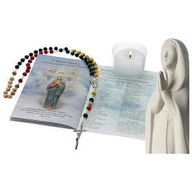 Chapelet, livret et statue de la Sainte Vierge s1