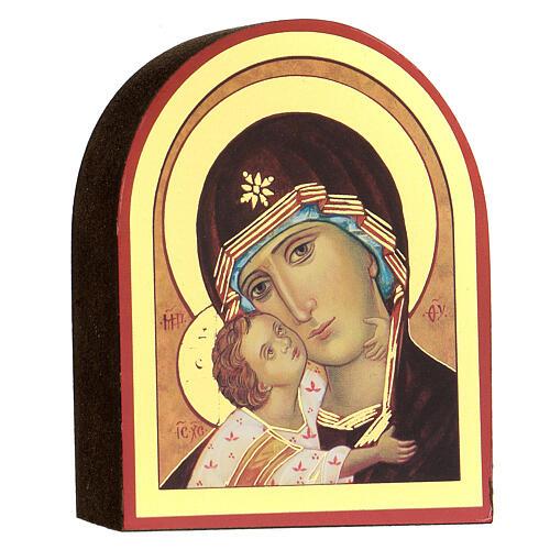 Kit rosario e icona Madonna Tenerezza 2