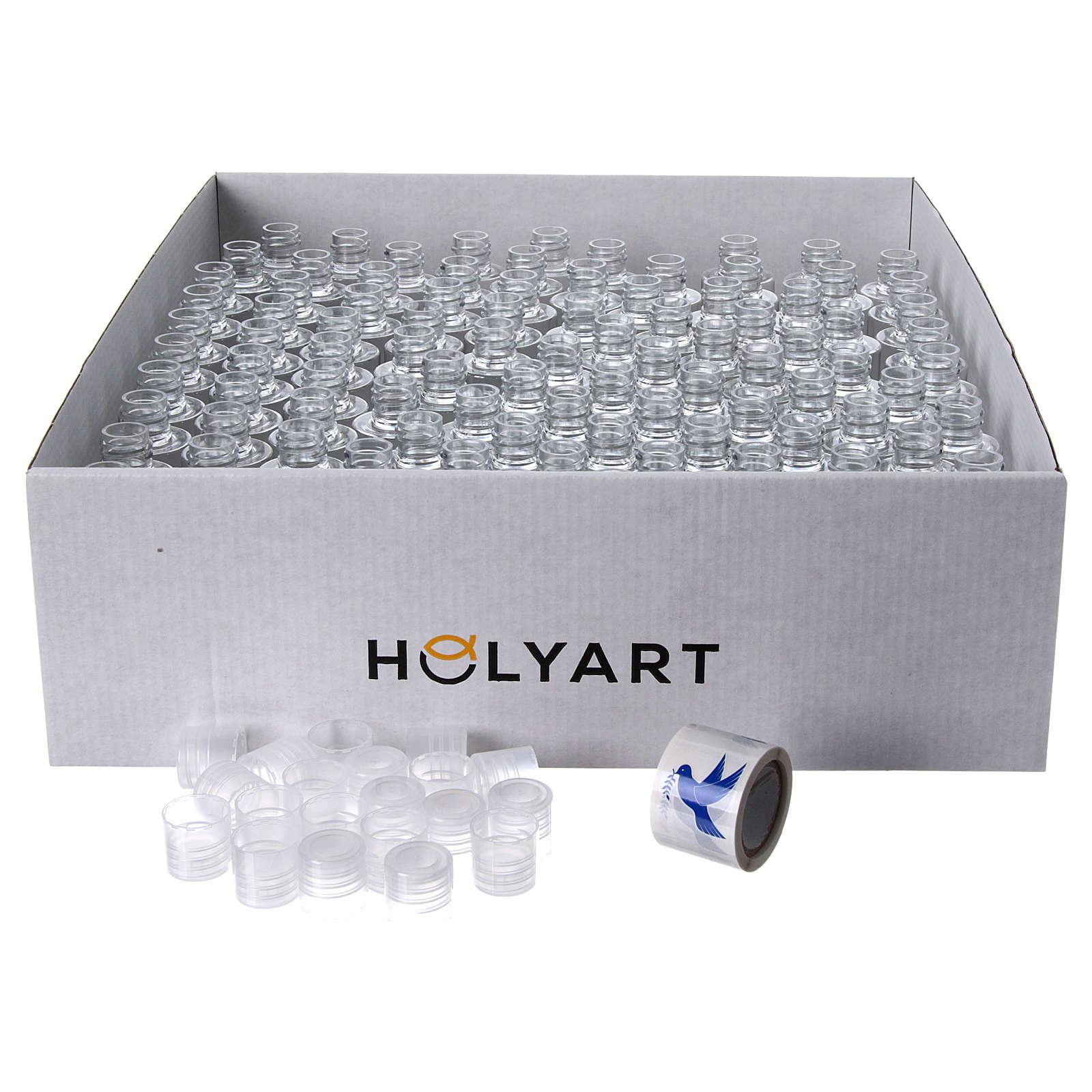 Garrafinhas água benta pomba (embalagem 100 peças) 3