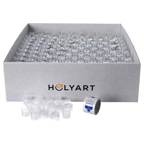 Garrafinhas água benta pia batismal (embalagem 100 peças) 2